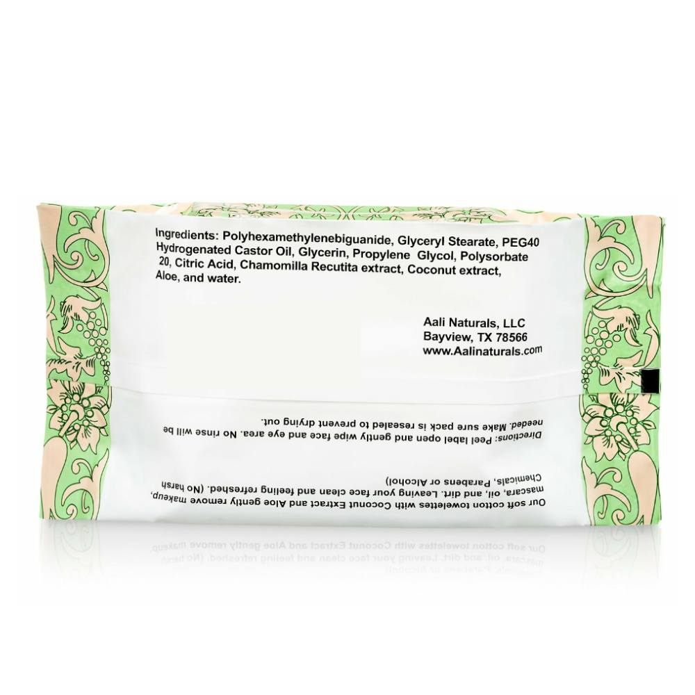 Aali Naturals Facial Cleansing Towelettes