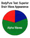 Brainwave results with Body Pure