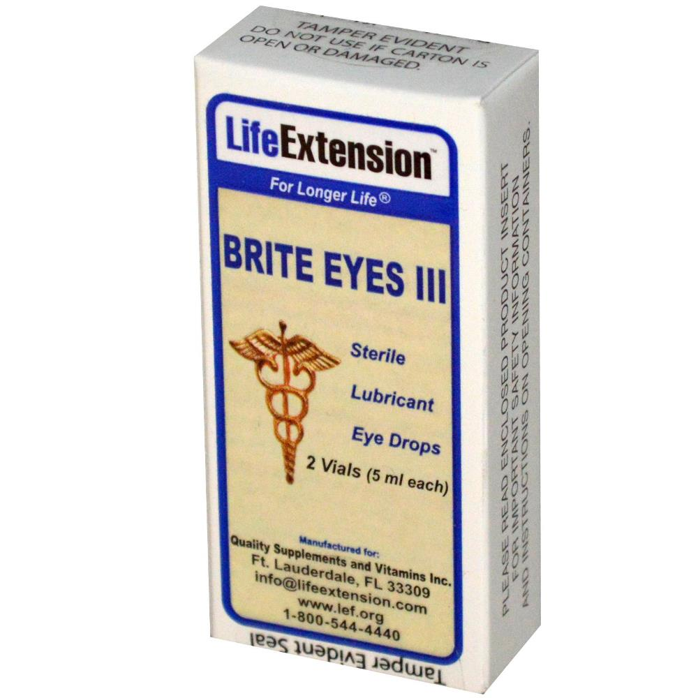 CLEARANCE - 01/16 Brite Eyes III Eye Drops