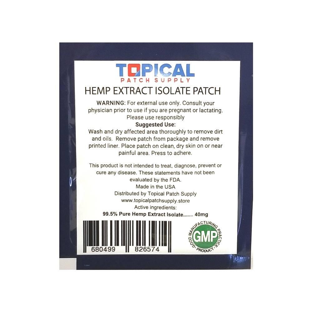 Hemp Extract CBD Patch