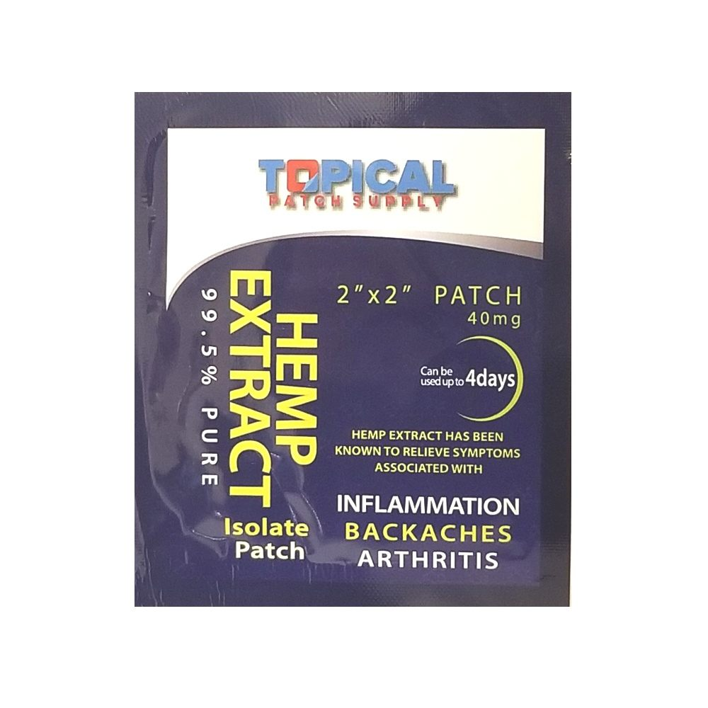 Hemp Extract CBD Patch