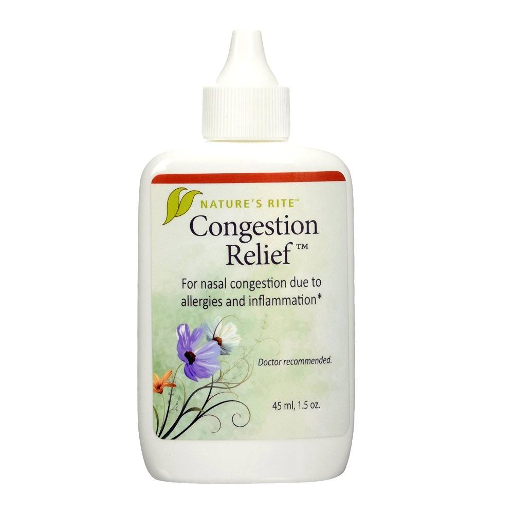 Natures Rite Congestion Relief