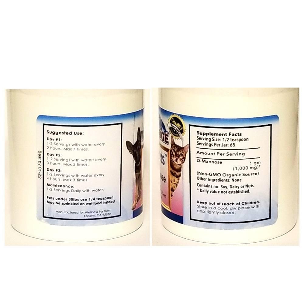 UTI Pets D-Mannose Powder
