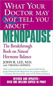 Book - Dr. Lee on Menopause