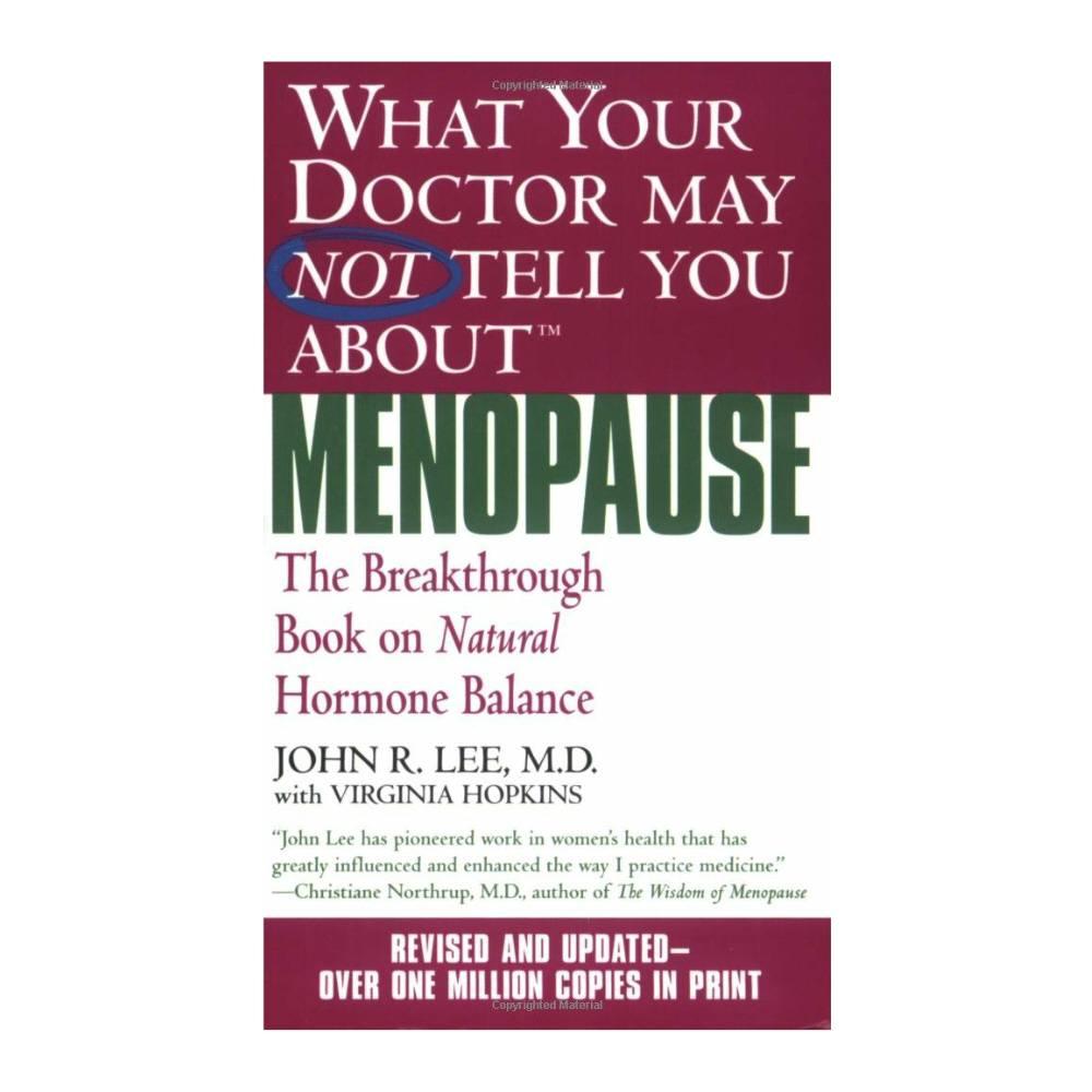 Book - Dr. Lee on Menopause