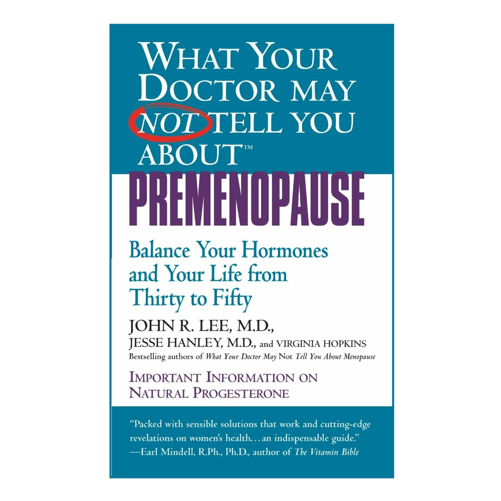 Book - Dr. Lee on Premenopause