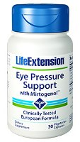 Eye Pressure Support with Mirtogenol by Life Extension