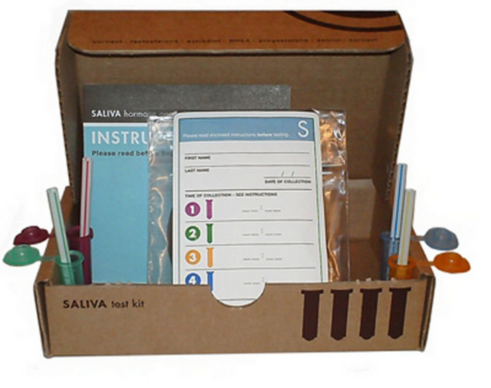 2 Hormone Labrix Saliva Test Kit