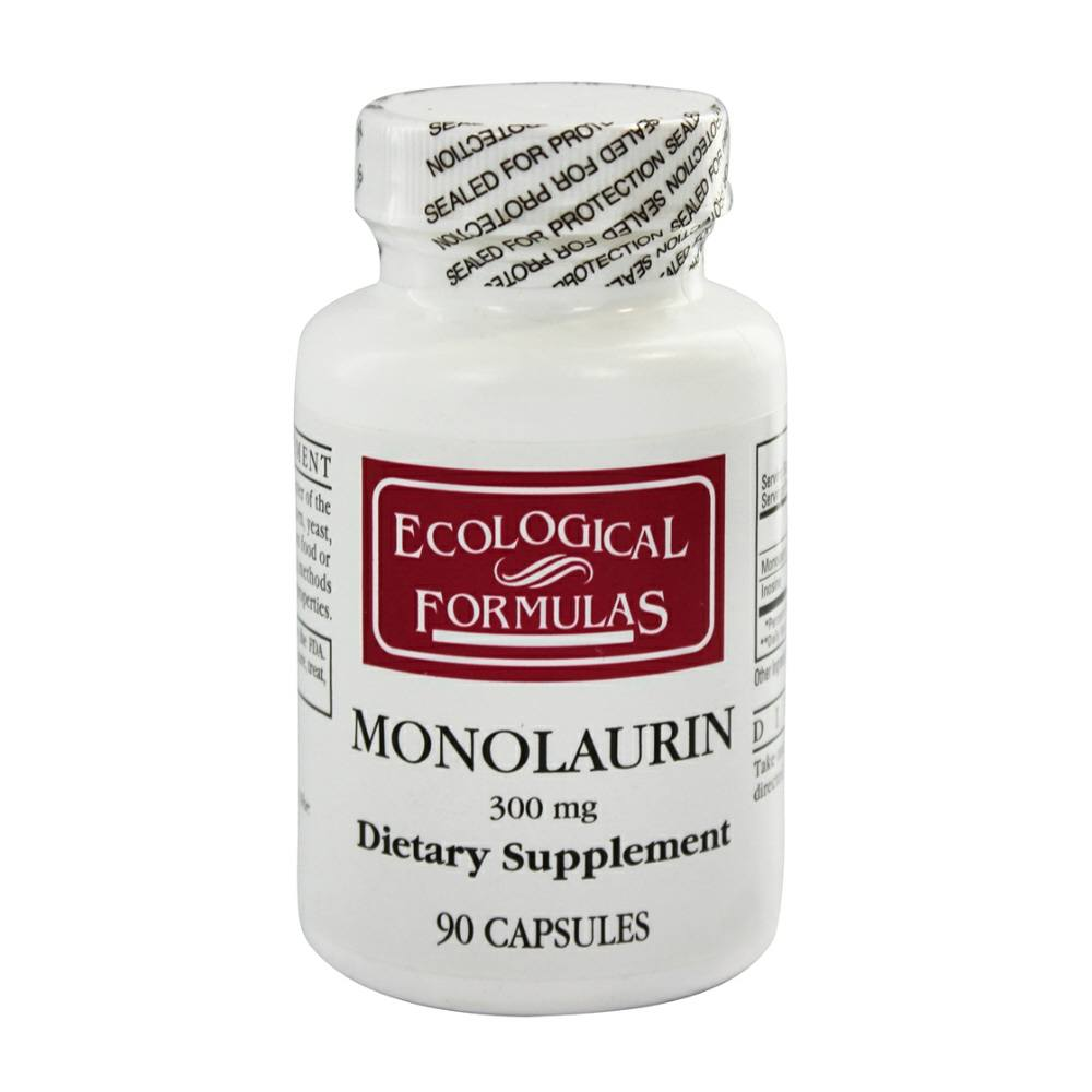 Details about Ecological Formulas Monolaurin 300 Mg - 90 Capsules