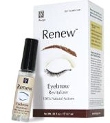 Renew Eyebrow Oil - Thickener and Revitalizer for Thinning Eyebrows. Grow Eyebrows. Regrow Eyebrows.