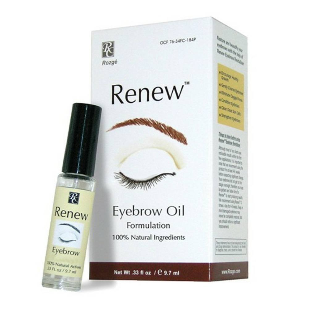 Renew Eyebrow Oil Formulation For Thinning Eyebrows Regrow Eyebrows