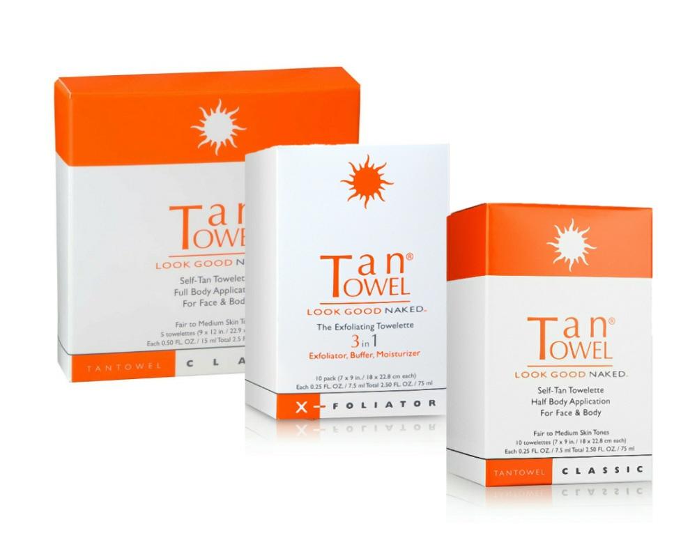 TanTowel Classic Combo Pack