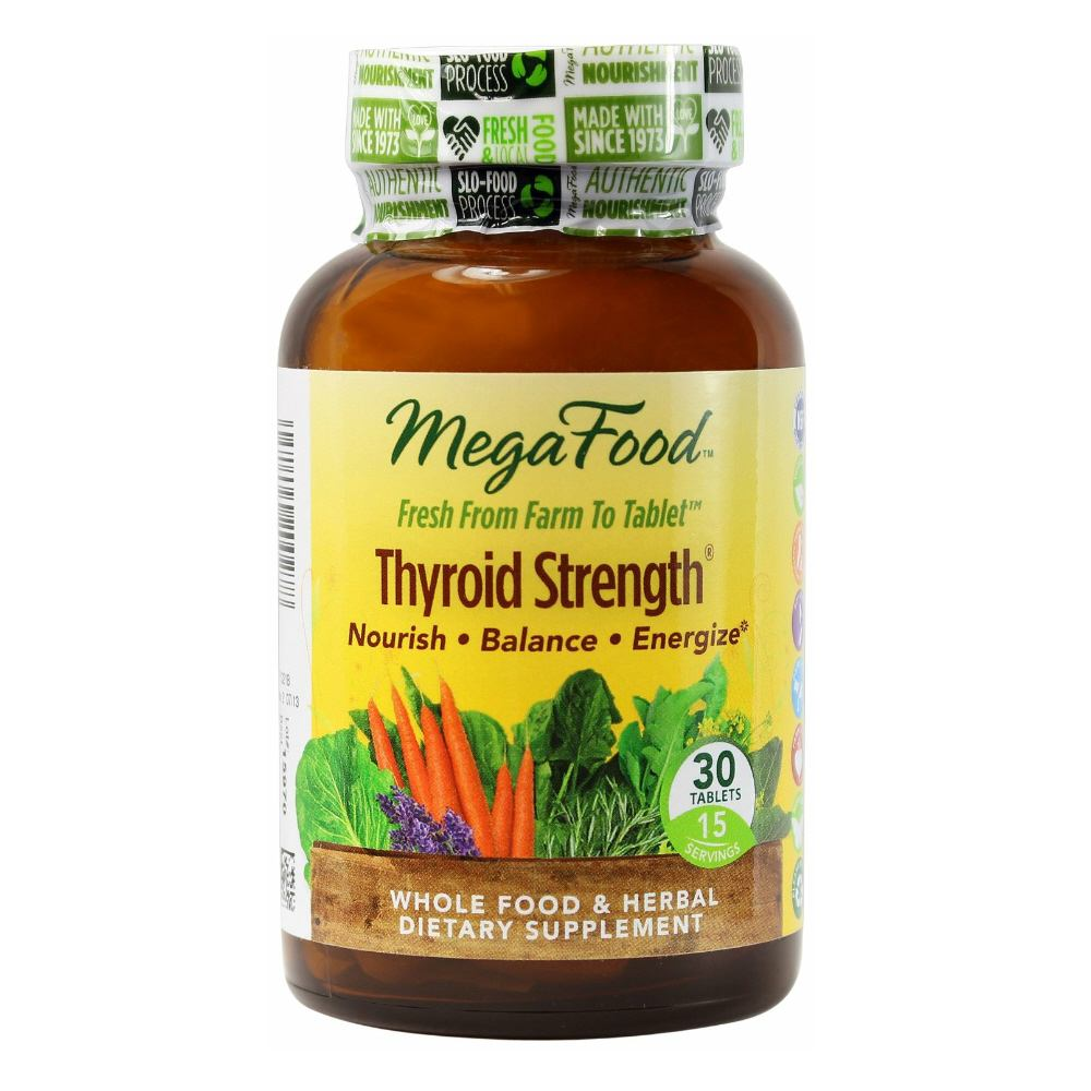 MegaFood Thyroid Strength - 30 tablets