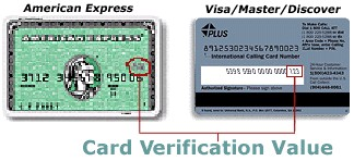 cvn or card verification number is an authentication mechanism created by card companies to help reduce fraud with online transactions
