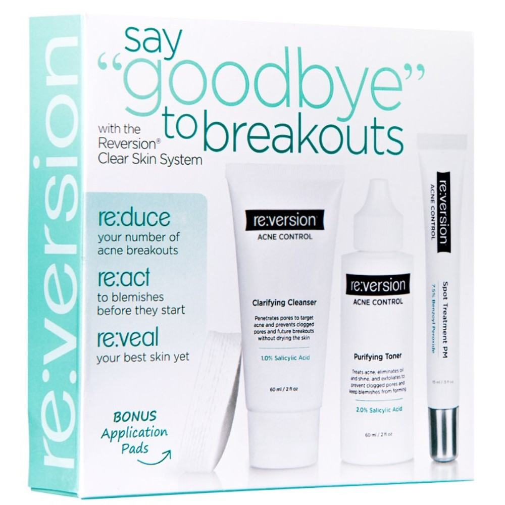Reversion Clear Skin System